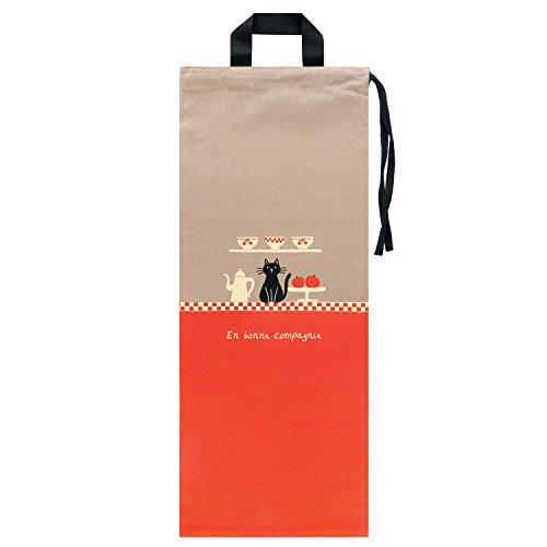 Derrière la porte DLP: bolsa para pan para colgar en algodón–Baquetas de conservación