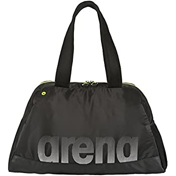 arena Fast Woman Mochila, Mujer, (Black/Yellow), 36x24x45 cm (W x H x L)