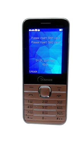 Tashan TS-444 Rose Gold Dual Sim Mobile Phone