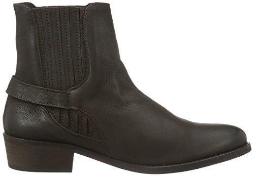 Braun leggera Brown Marrone Donna Seal con Leather Moda Vero Vmjeanet Stivali imbottitura bassi Boot Pq8n6wS
