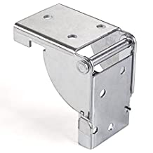 SO-TECH® Bisagra para Patas Abatibles Herraje para Mesa Plegable 38 x 38 mm