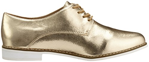 Buffalo Damen 15p73-1 Mercure Leather Derby Gold (oro 24)