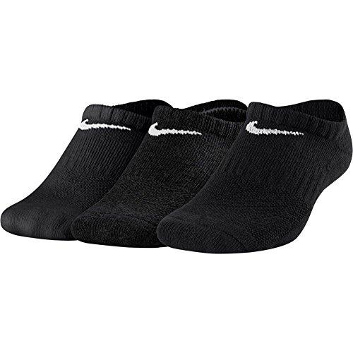 Nike Performance Cushioned No-Show Training (3 Pair) Chaussettes Enfants Noir