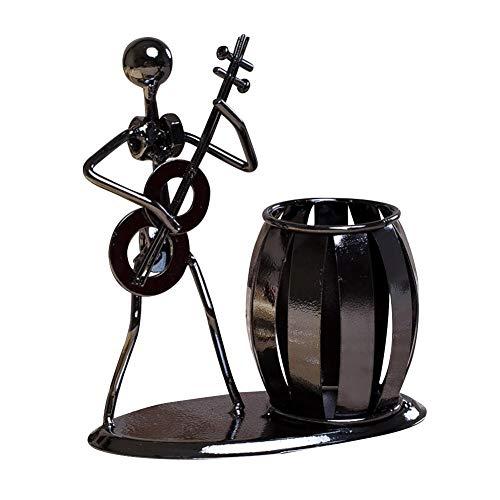 iYoung Desktop Supply Organisieren Werbung Innovative Büro Stifthalter r Cartoon Modische Geschenk Schmiedeeisen Band Metall Handwerk Ornamente
