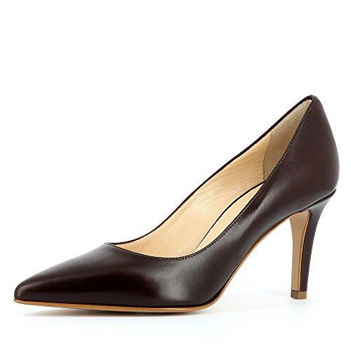 Evita Shoes Damen Aria Pumps Dunkelbraun