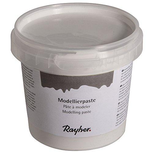 Rayher Hobby 38932000 Modellierpaste, weiß, 0.95 x 0.95 x 0.85 cm