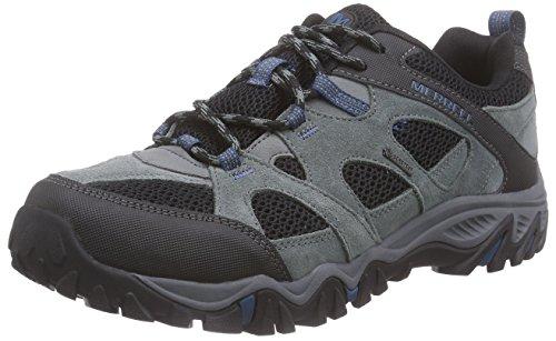 Merrell - Rockbit Gtx, Scarpe da arrampicata Uomo Grigio (Grigio (Grey))