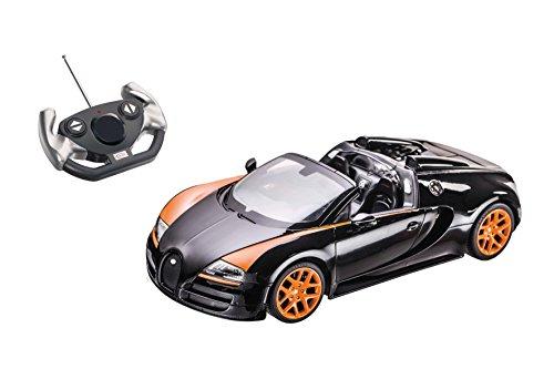 Mondo Motors 63262 - Radiocomandato Bugatti Grand Sport Vitesse, Scala 1:14, Modelli Assortiti