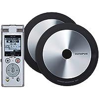 Olympus DM-720 Kit de dictaphone de réunion et d'enregistrement (mémoire 4 Go, USB Direct, avec batterie Ni-MH) große Value not found
