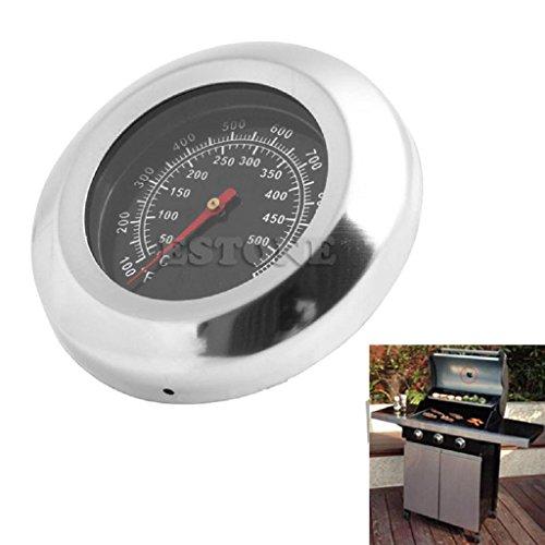 Mikiya BBQ Thermometer analog Edelstahl Grillthermometer, 50-500°C/100-1000℉
