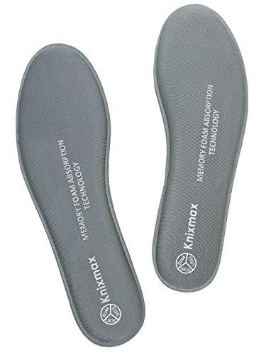 Knixmax Plantillas Memory Foam Zapatos Mujer