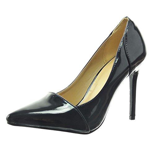 Novel Sopily - Women's Fashion Shoes Pump Court shoes - ankle-high - stiletto - shiny - patent Heel