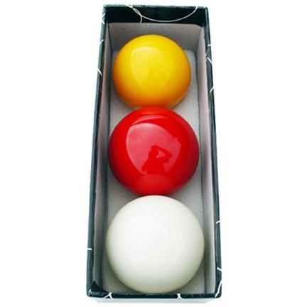 Juego bolas carambolas tricolor