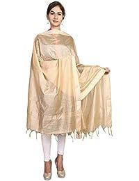 Home Shop Gift Pink Chanderi Silk Dupatta For Women - B0778P96YF