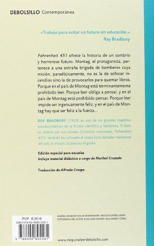 Descargar Fahrenheit 451 (edición escolar) (CONTEMPORANEA) libros gratis ebook en español leer libros online descarga y lee libros gratis