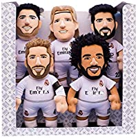 Bleacher Creatures Europe Pack-5 Real Madrid Peluches 25cm