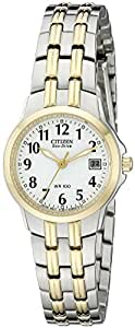 Citizen Women's Eco-Drive Silhouette Sport Two-Tone Watch #EW1544-53A