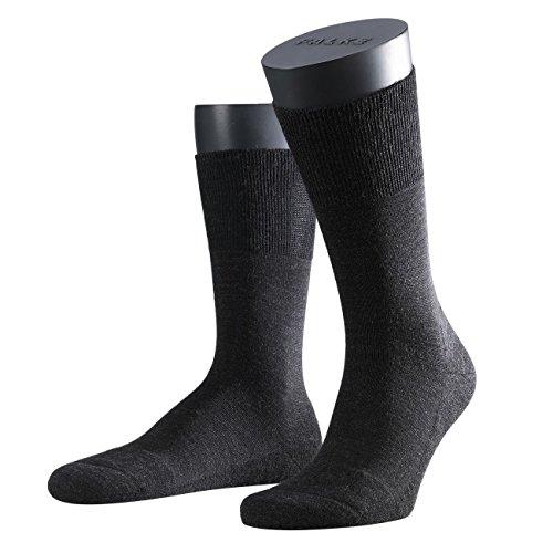 Preisvergleich Produktbild FALKE Herren Business Socken Airport,  3er Pack,  Anthrazit Mel.,  Gr. 45-46