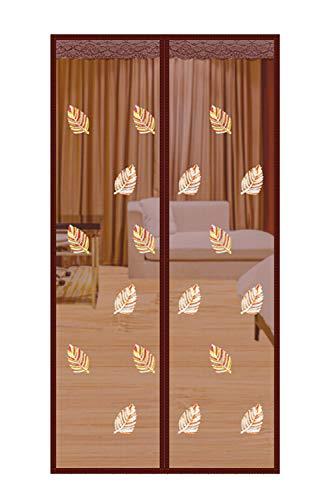 Qemsele Magnet Fliegengitter Magnetvorhang, Fliegengitter Balkontür Magnet Tür Insektenschutz, Vorhang 210cm x 90cm, Ideal für die Balkontür, Kellertür Und Terrassentür, Kinderleichte Klebemontage