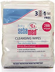 Sebamed Baby Wet Wipes, 288 Count