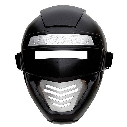 Widmann 04862 - Power Roboter Maske für Kinder, One Size