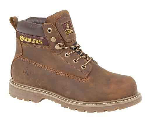 Bild von Amblers Unisex FS164 Sicherheits Schuhe / Damen/Frauen Stiefel (44 EUR) (Braun)