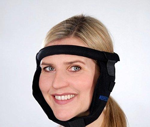 Kühlkompresse KEEPCOOL für das Gesicht mit Mehrfach Kältekompresse Coolpack as Seen on TV individuell grössenverstellbar für Weisheitszahn und Kiefer Operation - VERSANDKOSTENFREI -