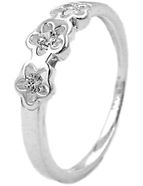 Ring für Kinder Zirkonia 925 Sterling Silber 91078-46