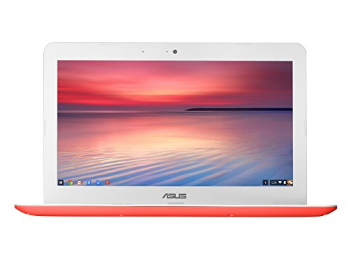 Asus C300 Laptop (Chrome, 2GB RAM, 16GB HDD) Red Price in India