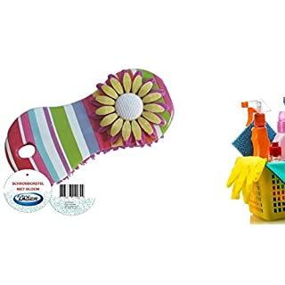 Aqua Laser Brush Flower Flower Power AS Cleaning Brush Set of 2