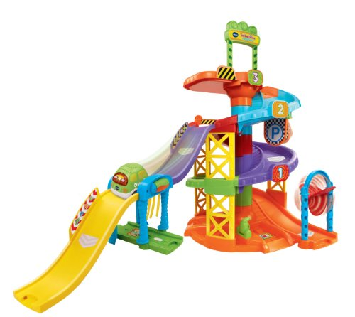 Image of VTech Baby Toot-Toot Drivers Parking Tower - Multi-Coloured