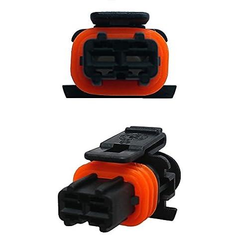 Connecteur d'injecteur le diesel - BOSCH DJB7029Y-3.5-21 without border (FEMALE) 1928404072, 1928403137, 1 928 403 137, VNP-KOMP1-2/3P, 3S7T1 4A464 MA, 60207908, 999 650 167 40, 12790266, 4668588, 4B0 971 942, 02T4N9460 - Fuel Injection Replacement Connector