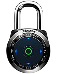 Master Lock 1500eEURDBLK Cadenas Électronique Eone à Combinaison pour Vestiaire - Utilisation en Intérieur