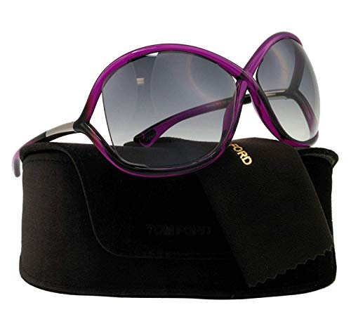 Tom ford whitney sunglasses in shiny fuchsia ft0009s 75b 64 64 gradient smoke