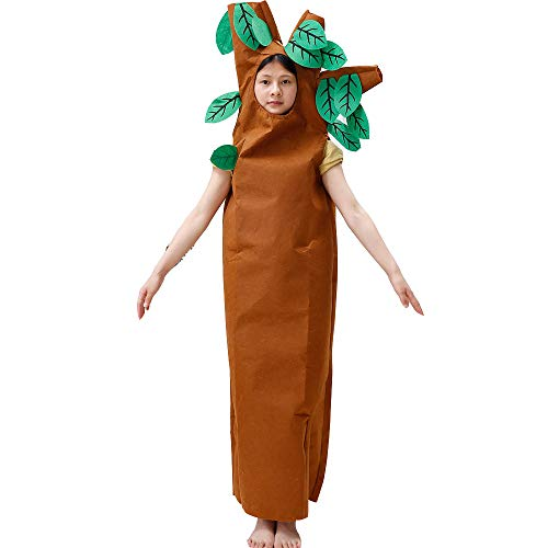 JJAIR Erwachsene und Kinder Großer Baum Kostüm, Lustig Pflanze Anzug Cosplay Leichte Bühnenaufführungen Mascot,180