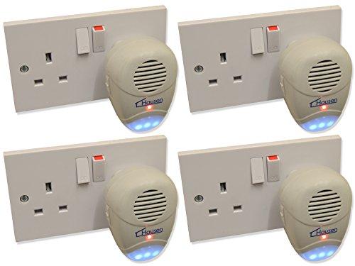 4-x-hausen-ultra-sonic-repellent-plug-in-rat-mouse-rodent-repeller-pest-deterrent
