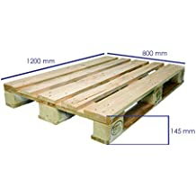 Palet homologado Europalet EPAL nuevo para mueble y chill out