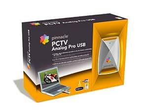 Pinnacle PCTV Analog Pro USB Carte tuner externe USB Reception TV analogique