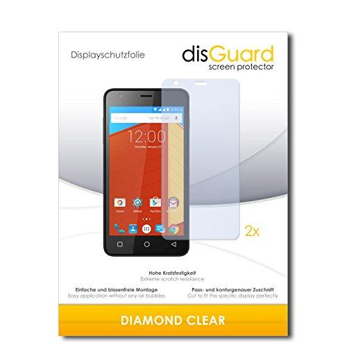 2 x disGuard® Bildschirmschutzfolie Gigabyte GSmart Classic Schutzfolie Folie