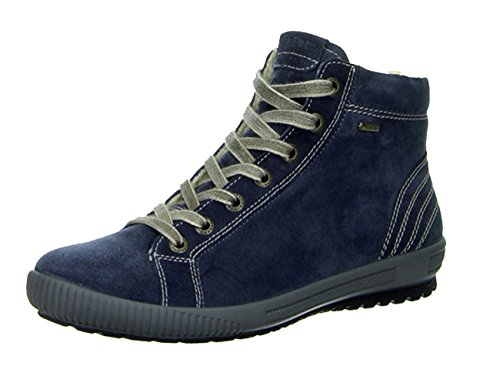 Legero 300619 TANARO Damen Hohe Sneakers Blau