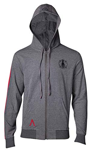 Assassins Creed Odyssey Sweat-Shirt à Capuche Logo Taped Sleeve Nouveau Officiel Assassins Creed