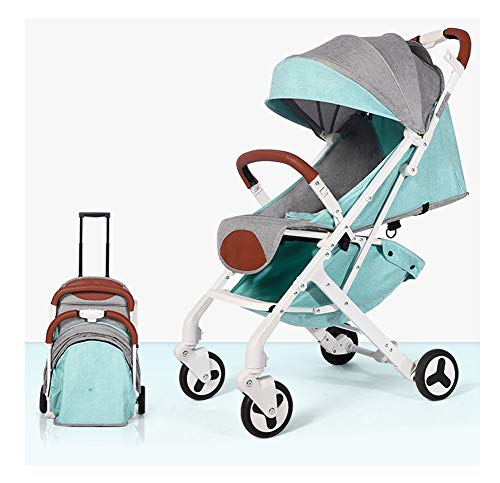 Kaysa-TS Baby Stroller Ultra-Light Portable, Travel System, geeignet für 0-36 Monate Baby