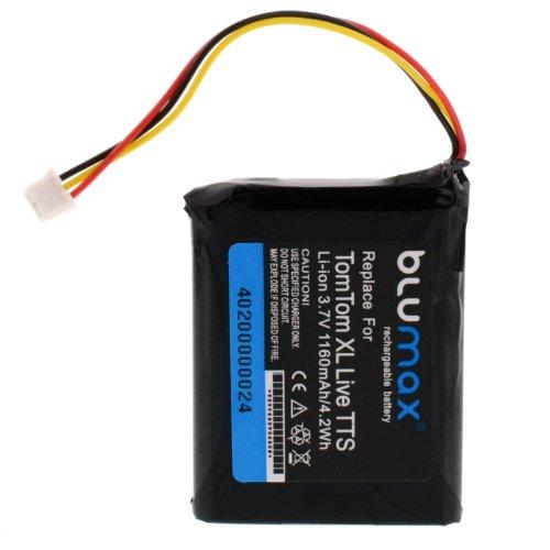Blumax - Batería de iones de litio para TomTom one XL V2...