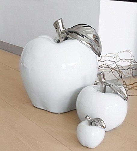 Gilde Céramique décorative Pomme L 9x 9x 10cm...