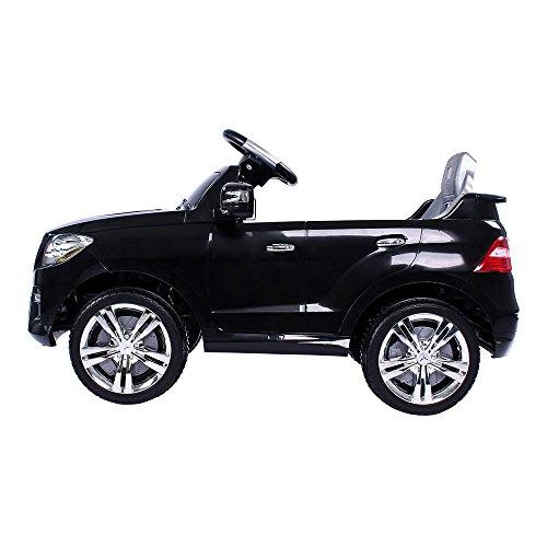 RC Kinderauto kaufen Kinderauto Bild 1: Mercedes-Benz ML Kinder Auto Elektroauto Kinderauto Elektrofahrzeug Kinderfahrzeug mit 2 Motoren MP3 Fernbedienung. Farbe: Schwarz*
