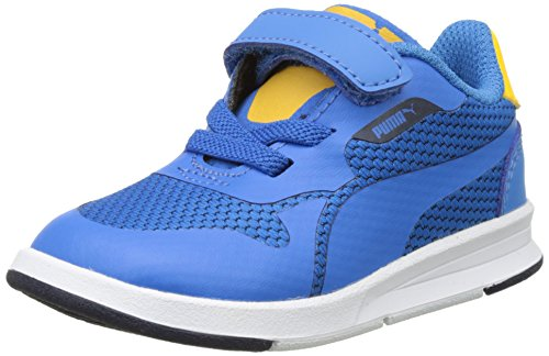 Puma Icra Evo V Inf, Sneakers Basses Mixte Enfant Bleu (French Blue-french Blue 04)