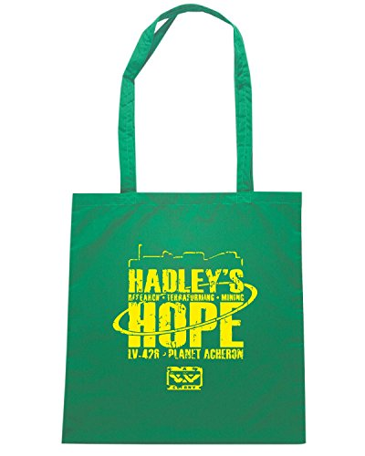 T-Shirtshock - Borsa Shopping TF0089 inspired by Hadleys Hope Verde
