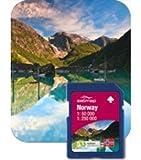Satmap Karte Norwegen gesamt 1:50000 für Satmap Active 10 & Satmap Active 12