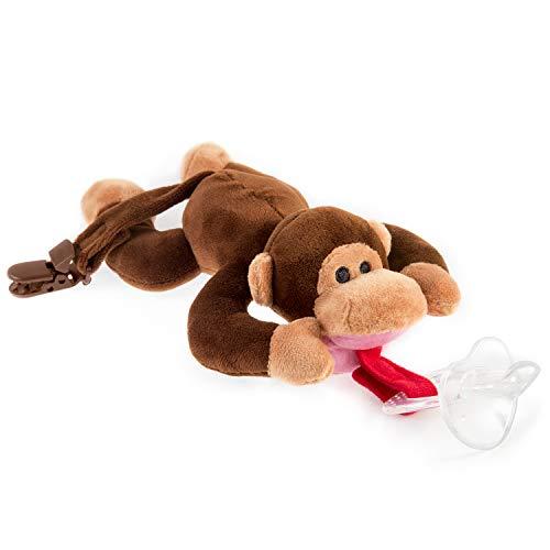 Chupete mono BabyHuggle - Chupeta peluche bebé, Juguete