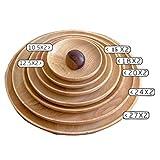 LF Kreative Fruchtplatte Nordic Home Teller Geschirr Set Holzplatte Stil Teller Mahlzeit Kissen Scheibe Verschiedene Größen,27 * 2Cm